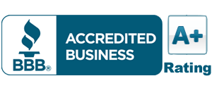 BBB A+ Rating Seal