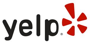 Yelp logo. Yelp Reliable Home Security reviews
