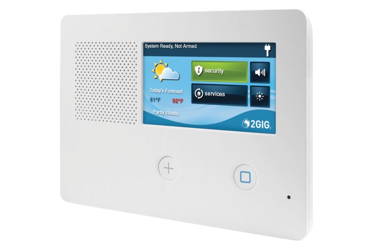 2GIG GC2e security & home control panel