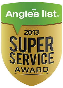 Angie's List Service Award Seal