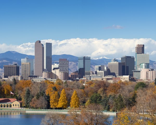 City of Denver landscape, security systems denver