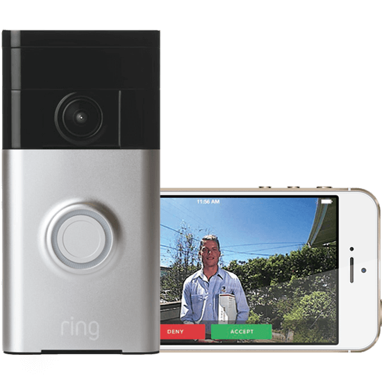 Ring video doorbell camera reliable home security for Door video camera