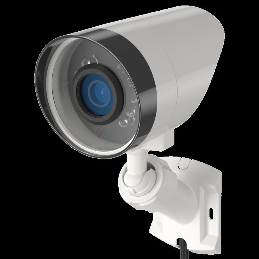 Cameras For Home Exterior: Alarm.com Exterior Camera With Night Vision