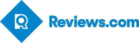 Reviews.com logo. Best home security systems Denver