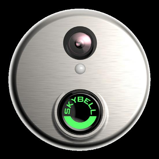 Skybell Doorbell HD Camera Silver