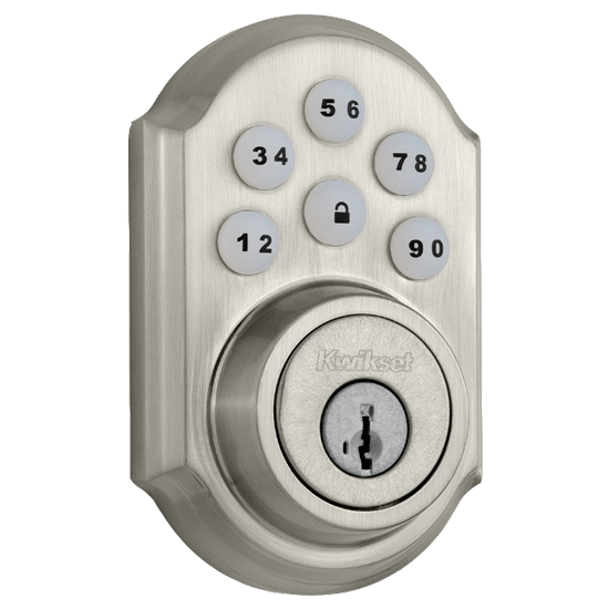 Kwikset Smart Door Lock Satin